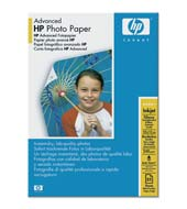 HP (Q8691A) Advanced Glossy Photo Paper 10x15cm, 25ks, 250 g/m2 papír - AGEMcz