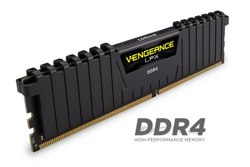 CORSAIR 16GB=2x8GB DDR4 2400MHz VENGEANCE LPX BLACK PC4-19200 1.2V CL14 - AGEMcz