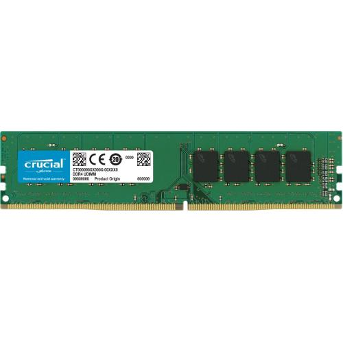CRUCIAL 8GB UDIMM DDR4 2666MHz PC4-21300 CL19 1.2V Single Ranked x8 - AGEMcz