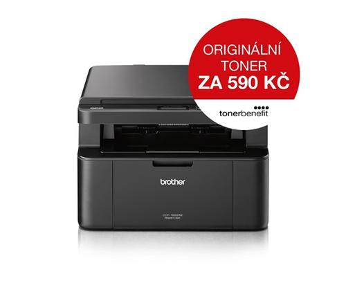 BROTHER Laser DCP-1622WE Print/Scan/Copy, A4, 32str/min, 600 x 600, 16MB GDI, WiFi, USB - multifunkce - AGEMcz