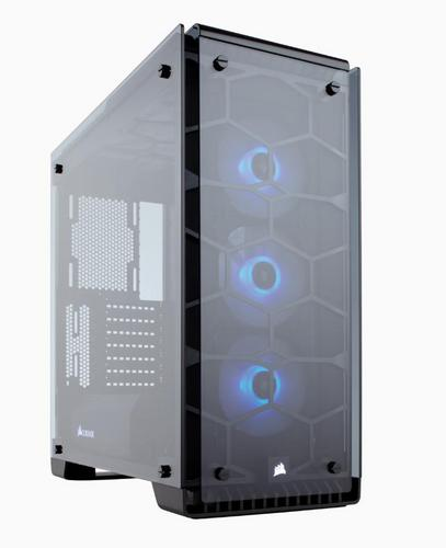 CORSAIR Crystal Series 570X RGB ATX Mid-Tower Case Black ATX PC Case černý bez zdroje - AGEMcz