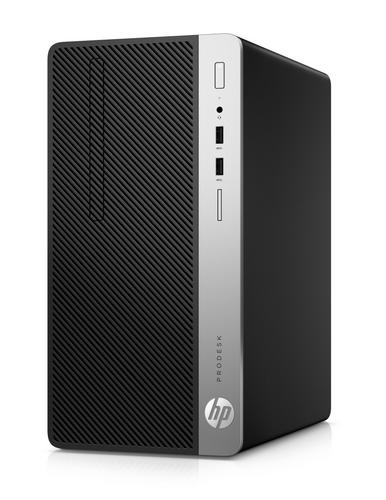 HP PC HP ProDesk 400 G6 MT Microtower, i5-9500 / 8GB / 256 GB SSD / Intel HD / DVD-RW/ W10 - AGEMcz