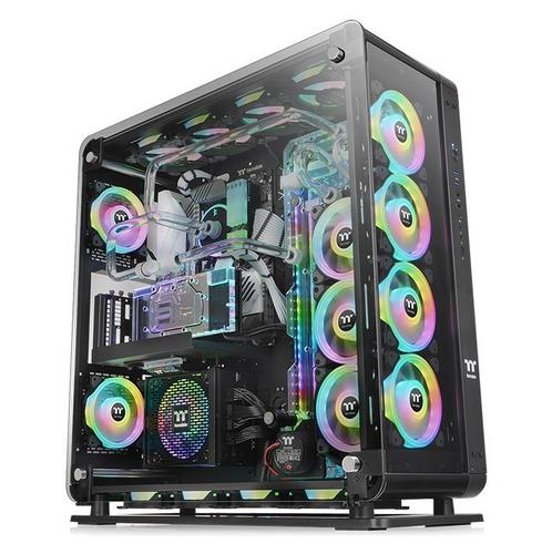 "THERMALTAKE case Core P8 TG černý ""full tower"" s oknem - AGEMcz"