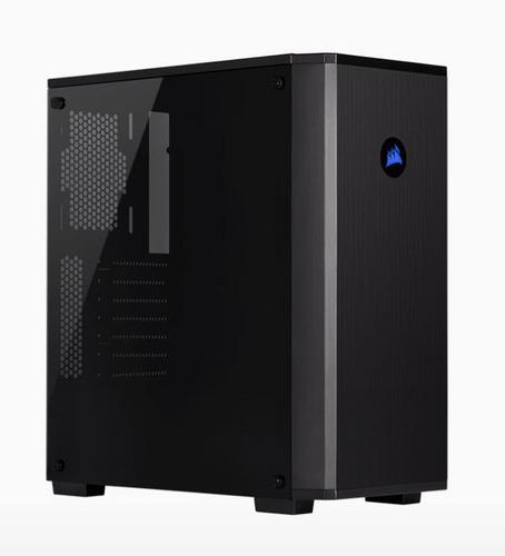 CORSAIR Carbide 175R Tempered Glass Mid-Tower Gaming ATX Black PC Case - AGEMcz