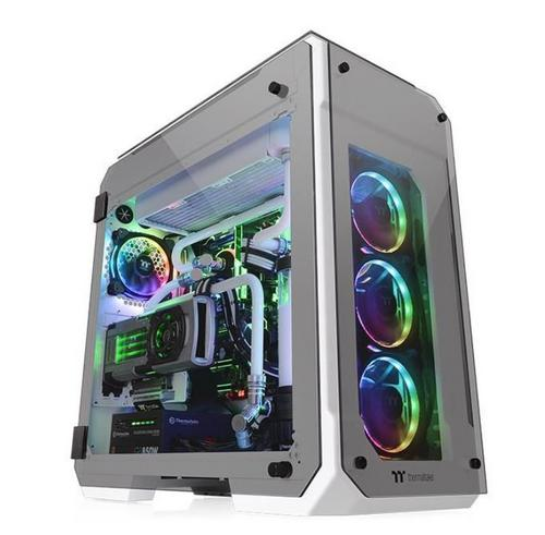 THERMALTAKE case View 71 TG SNOW Edition bílý s oknem, E-ATX, 4x TG, 2x fan 140mm - AGEMcz